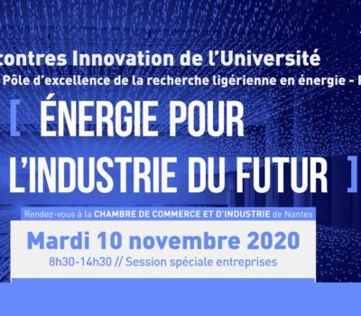 Rencontres Innovation «Energie pour l'industrie du futur»