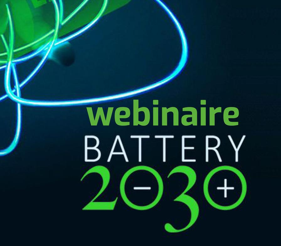 Webinaire Battery 2030+