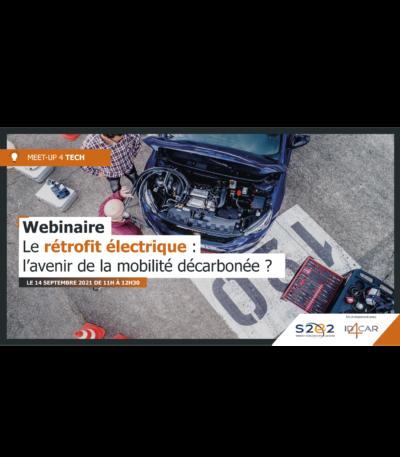Webinaire «Le rétrofit électrique : l'avenir de la mobilité décarbonée ?»