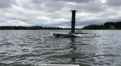 Farwind Energy conçoit et teste le premier voilier hydrolien